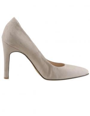 Klasiski krēmīgas krāsas sieviešu ādas augstpapēžu apavi GUIDO MARIA KRETSCHMER