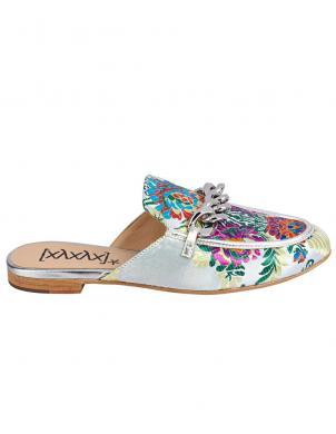 Krāsaini sieviešu apavi ar ķēdi XYXYX