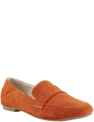 Sieviešu oranži zamšādas apavi Andrea Conti
