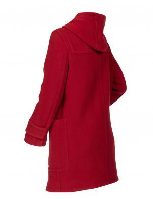 TOMMY HILFIGER sarkans sieviešu mētelis ar vilnu