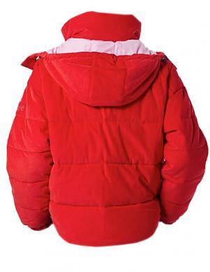Sarkana sieviešu jaka LEE