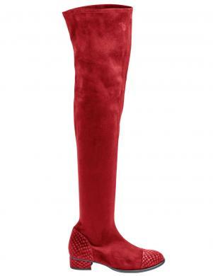 Stilīgi sarkani sieviešu zābaki HEINE