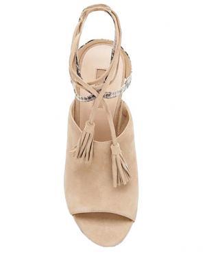 GUESS smilšu krāsas sieviešu augstpapēžu apavi