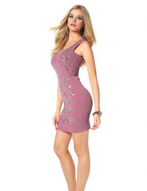 MELROSE rozā kleita