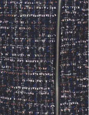 Melna sieviešu jaka ar vilnu TAMARIS