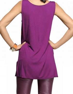 ALBA MODA violetas krāsas blūze