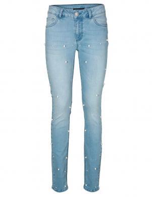 PATRIZIA DINI Gaiši zili sieviešu džinsi