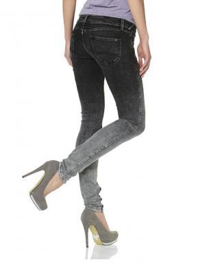 HILFIGER DENIM melnas/pelēkas krāsas stilīgi sieviešu džinsi
