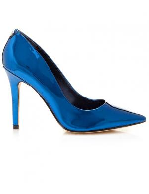 Eleganti zili sieviešu augstpapēžu apavi GUESS