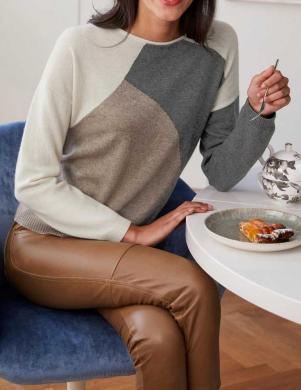 Vilnas dabīgas krāsas džemperis ar kašmiru HEINE