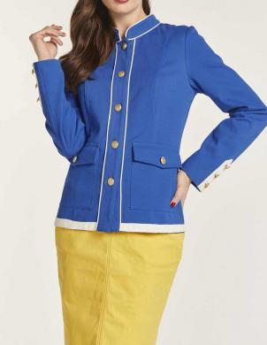 Militāra stila zila jaka HEINE
