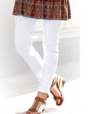TAMARIS sieviešu baltas krāsas bikses