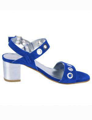 HEINE zilas sieviešu sandales