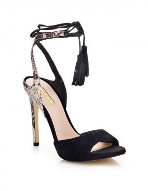GUESS melnas sieviešu augstpapēžu sandales