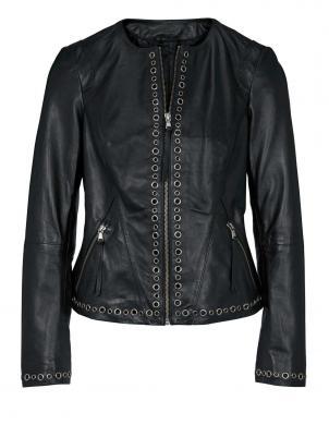 Melna ādas jaka HEINE
