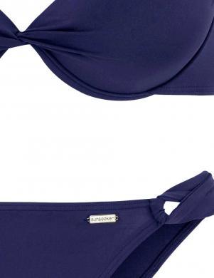 Zils divu daļu PUSH-UP peldkostīms SUNSEEKER