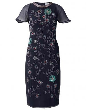 Zila stilīga kleita HEINE