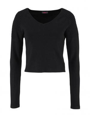 BUFFALO skaists melnas krāsas sieviešu džemperis
