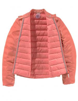 Koraļļu krāsas sieviešu jaka AJC