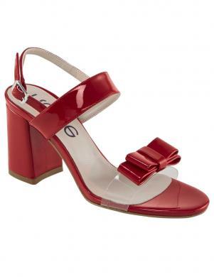 Sarkanas lakotas sandales HEINE