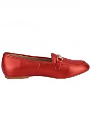 Stilīgi sarkani sieviešu ādas apavi HEINE
