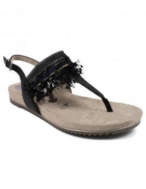 Sieviešu melnas sandales TAMARIS