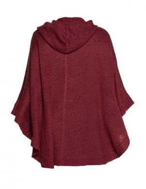SHEEGO bordo krāsas stilīgs sieviešu apmetnis