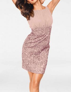 Rozā klasiska kleita HEINE