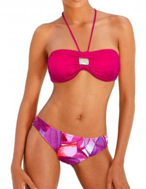 BAMBOLA rozā krāsas sieviešu divu daļu peldkostīms