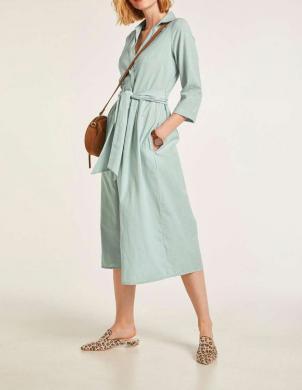 Zaļa kleita ar linu HEINE
