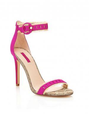 GUESS rozā sieviešu augstpapēžu sandales