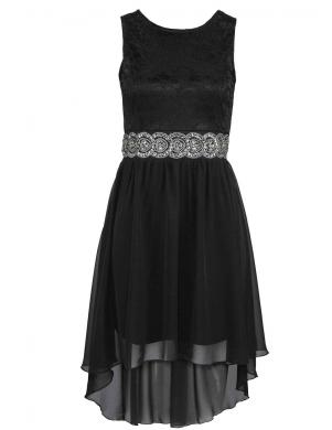 Melna kokteiļu kleita MELROSE