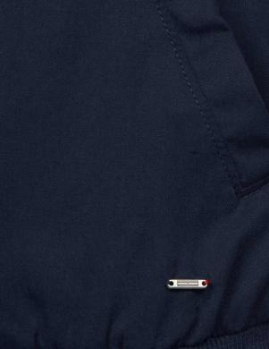 Tumši zila sieviešu jaka TOMMY HILFIGER DENIM