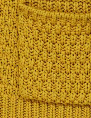 Dzeltens sieviešu kardigans ar pogām CHEER