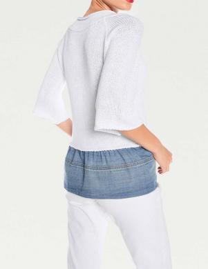 Balts sieviešu džemperis HEINE