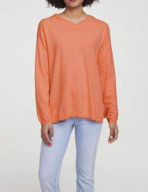 Oranžs džemperis ar kapuci HEINE