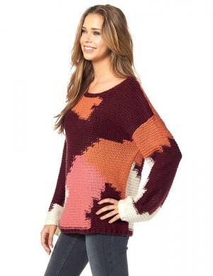 AJC krāsains sieviešu džemperis