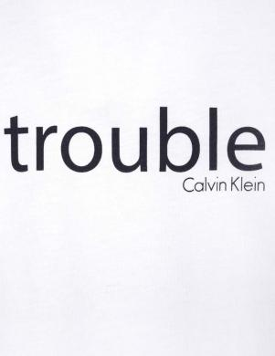 CALVIN KLEIN balts bērnu krekls