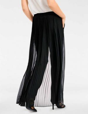 Melnas stilīgas sieviešu bikses ASHLEY BROOKE