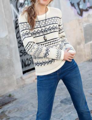 Žakarda raksta džemperis WITT WEIDEN