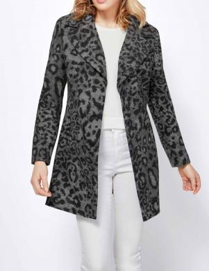 Pelēks leoparda raksta mētelis CREATION L