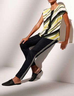 Stilīgas bikses ar svītru sānos CREATION L
