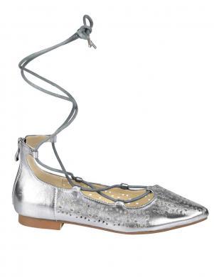 Sudraba krāsas ādas sieviešu apavi ANDREA CONTI