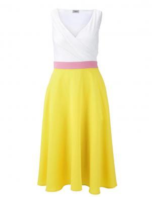 Dzeltena/balta kleita HEINE