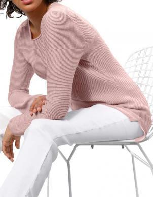 Grezns zīda rozā džemperis ar kašmiru CREATION L PREMIUM