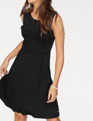 Melna stilīga kleita TOM TAILOR