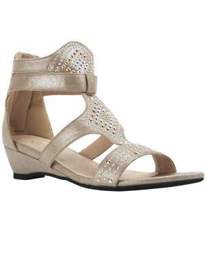 Krēmīgas krāsas sieviešu sandales ANDREA CONTI