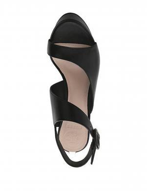 Sieviešu melni ādas augstpapēžu apavi GUESS