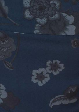 Zils garš kombinezons ar ziediem DESIGUAL