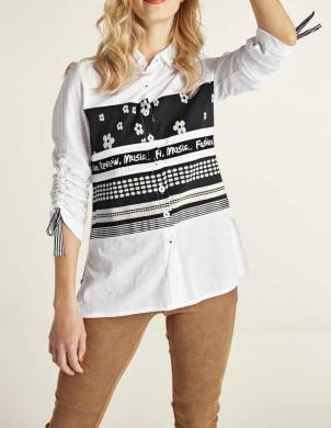 Krekls ar dekoratīvām lencēm HEINE